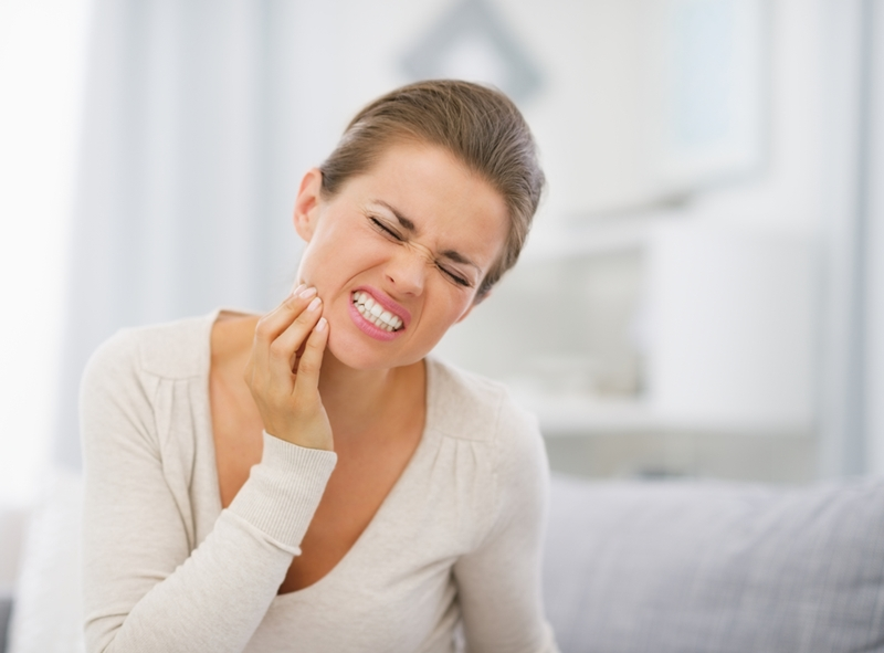 Jaw pain may be a sign of an impacted tooth.