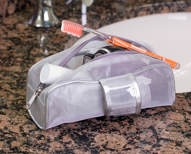 Pack this dental essential with the rest of your toiletries.