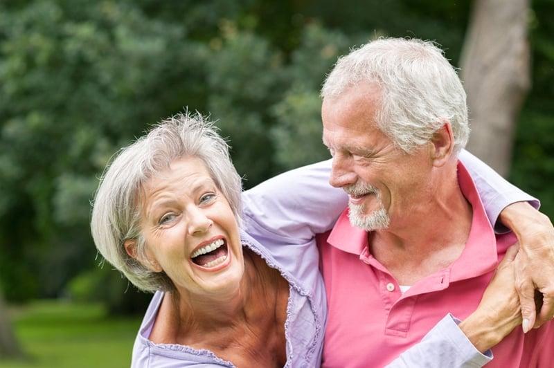 yellowing teeth in seniors, senior dental care