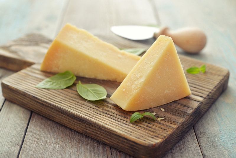 Cheese is a fantastic source of calcium.
