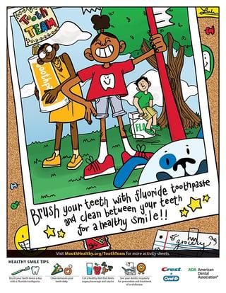ADA Oral Health Flyer