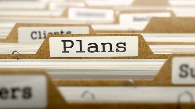 Plans Concept. Word on Folder Register of Card Index. Selective Focus..jpeg