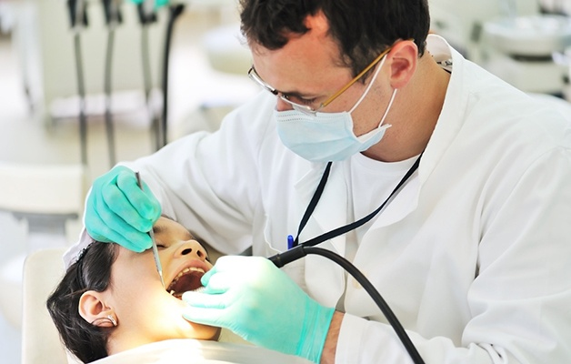 Dentist visits are declining