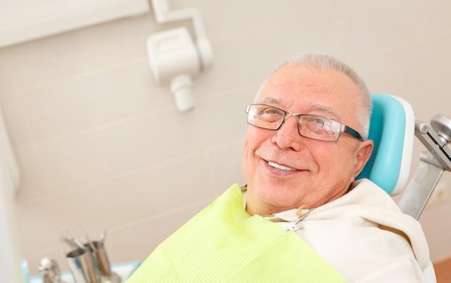 elderly-man-dentures