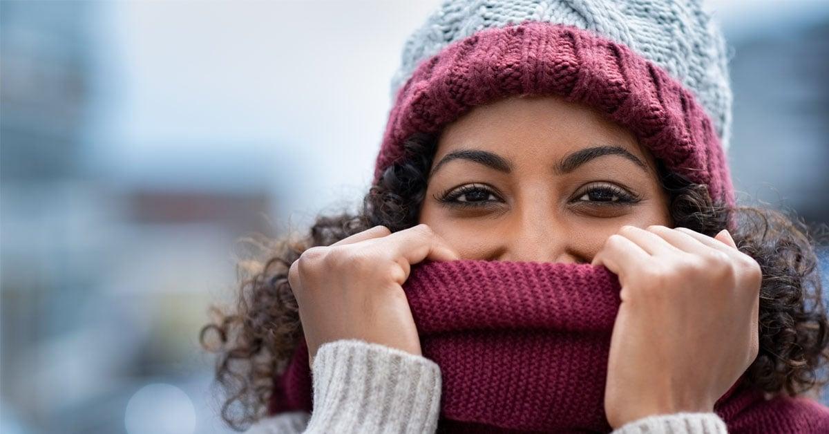 winter oral health
